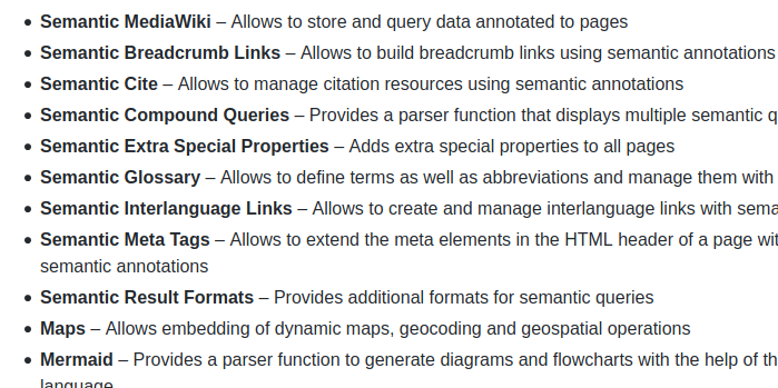 Semantic Bundle for MediaWiki